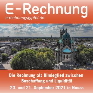 E-Rechnungs-Gipfel 2021 in Neuss